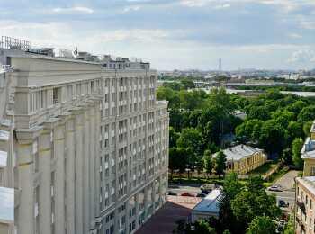 Видовые квартиры на Смольный Собор, Неву и Большеохтинский мост
